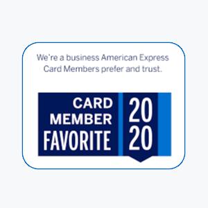 American Express 2020 Card Member Favorite
